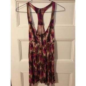 Free People long tank top size small.